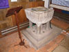 Font thought to be Saxon with Victorian base